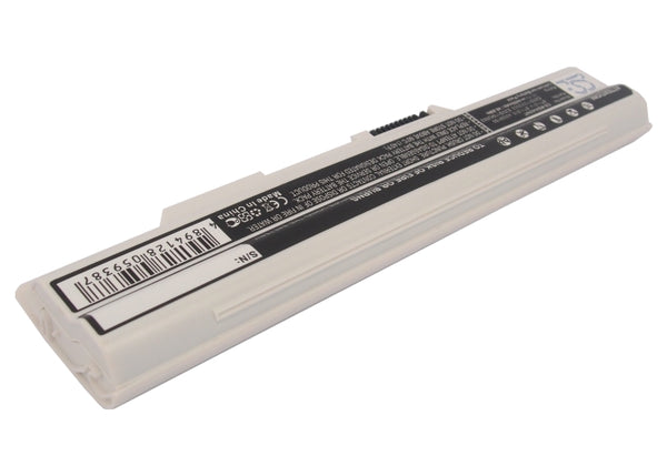 Battery for MSI CR650, CX650, FR400, FR600, FR620, FR700, FX400, FX420, FX600, FX603, FX610, FX620, FX620DX, FX700, GE620 (4400mAh)