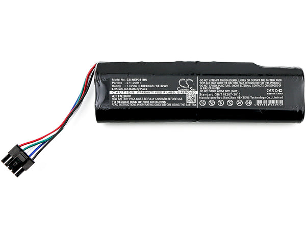 Battery for IBM 0X9B0D, 0XC9F3, 271-00011, AVT-900486, AVT-900486 REV C1, OX9BOD (6800mAh)