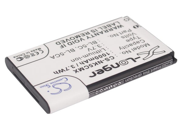Battery for BANNO GT03B (1000mAh)