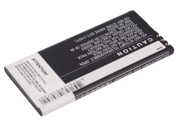 Battery for Nokia Arrow, Lumia 820, Lumia 820.2, Lumia 825 (1650mAh)