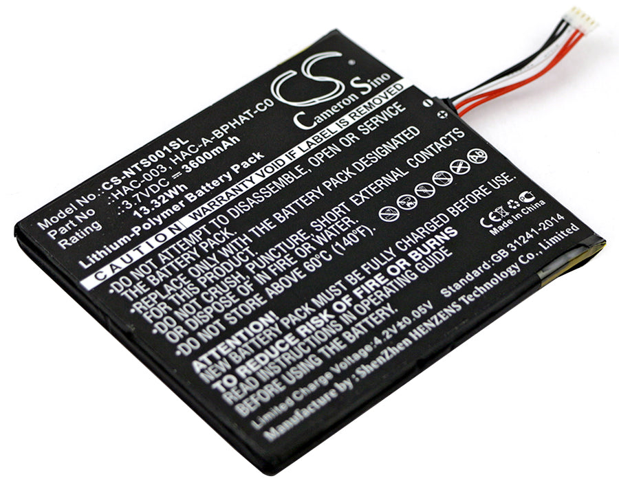 Battery for Nintendo HAC-S-JP/EU-C0, Switch HAC-001