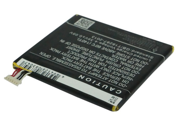 Battery for Alcatel One Touch 7024, One Touch 7024W, One Touch Fierce, One Touch Idol, One Touch Snap