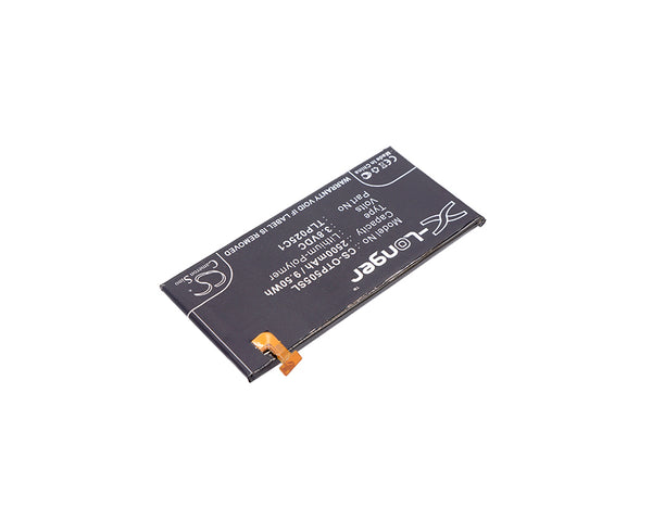 Battery for Alcatel One Touch Allura, One Touch Fierce 4, One Touch Idol 3 5.5, One Touch Pop 4 Plus, One Touch Pop 4+ (2500mAh)