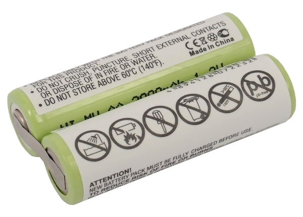 Battery for Remington MS2-280, MS2-290, MS2-390, MS-280, MS-290, MS-5100, MS-5200, MS-5500, MS-5700, MS-5800, MS-900