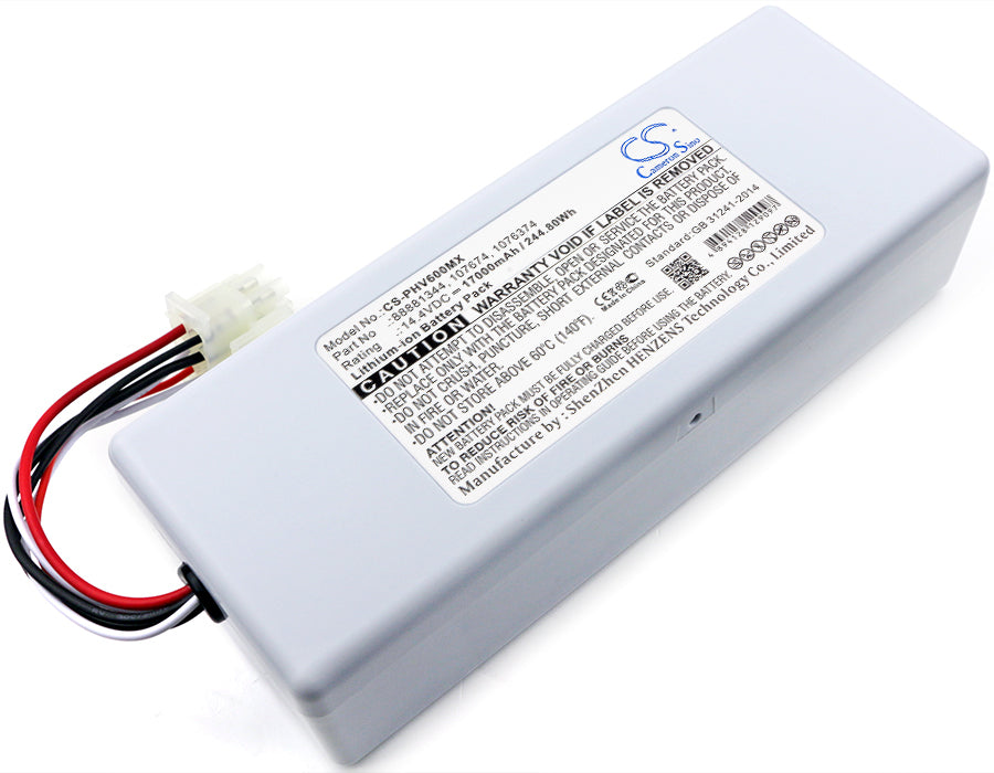 Battery for Philips Respirateur V60, Respirateur V60S, Respironics V60, Respironics V60S
