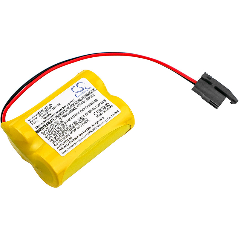 Battery for GE A06B-6093-K001, A98L-0031-0011/L, Fanuc A98L-0031-0011/L
