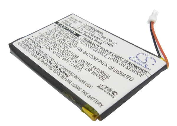 Sony PRS-300, PRS-300BC, PRS-300RC, PRS-300SC Replacement Battery