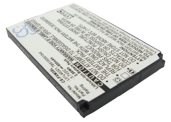 Battery for Sirius GEX-XMP3, XMP3H1, XMP3i