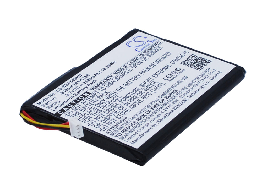 Battery for Seagate GoFlex Satellite Mobile Wireless Storage STBF500100, STBF500101
