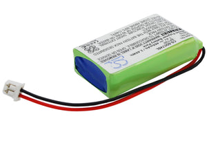 Battery for Dogtra 2300-NCP Advance, 2300NCP receiver, 2300RX receiver, 2302-NCP Advance, 2302NCP receiver