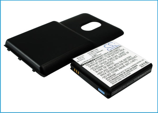Battery for Sprint Epic Touch 4G, Galaxy S II, SPH-D710, SPHD710GYS (2400mAh)
