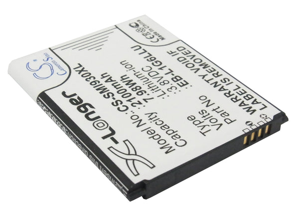 Battery for USCellular Galaxy S3, Galaxy S3 LTE, SCH-R530 (2100mAh)