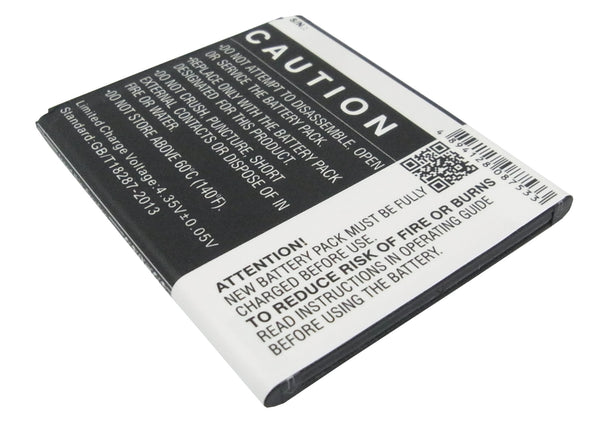 Battery for Samsung Galaxy Ace 3 LTE, Galaxy Light, Garda, GT-I7275, GT-S7275, GT-S7275R, SGH-T399 (1800mAh)