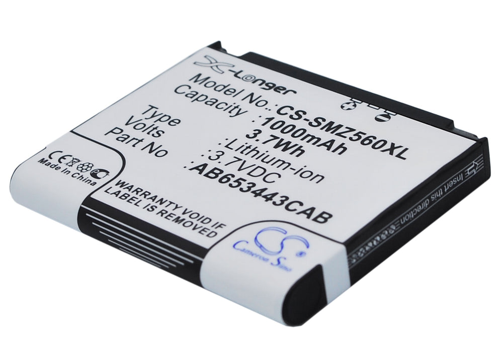Battery for Samsung RMC30C1, RMC30C2