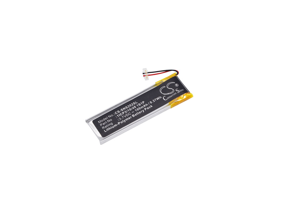 Battery for Sony NW-S202, NW-S203F, NW-S205F