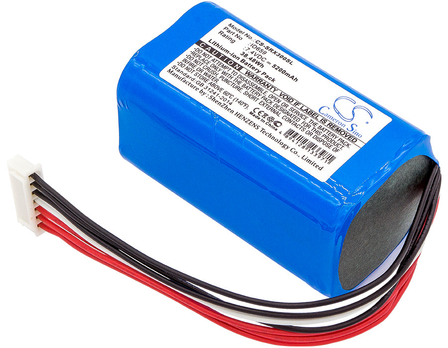 Battery for Sony SRS-X30, SRS-XB3 (5200mAh)