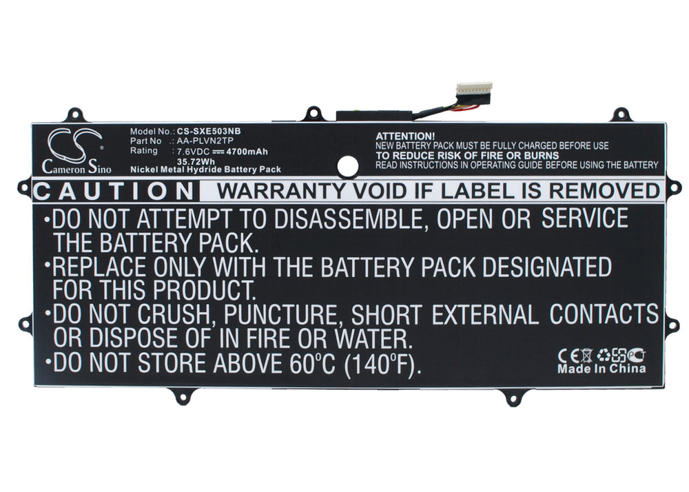 "Battery for Samsung Chromebook 2 13.3"", XE503C32, XE503C32-K01US"
