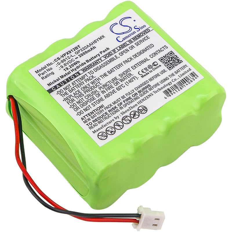 Battery for Visonic 0-100459, 0-100498, 0-100535, 0-100605, 0-5466-8
