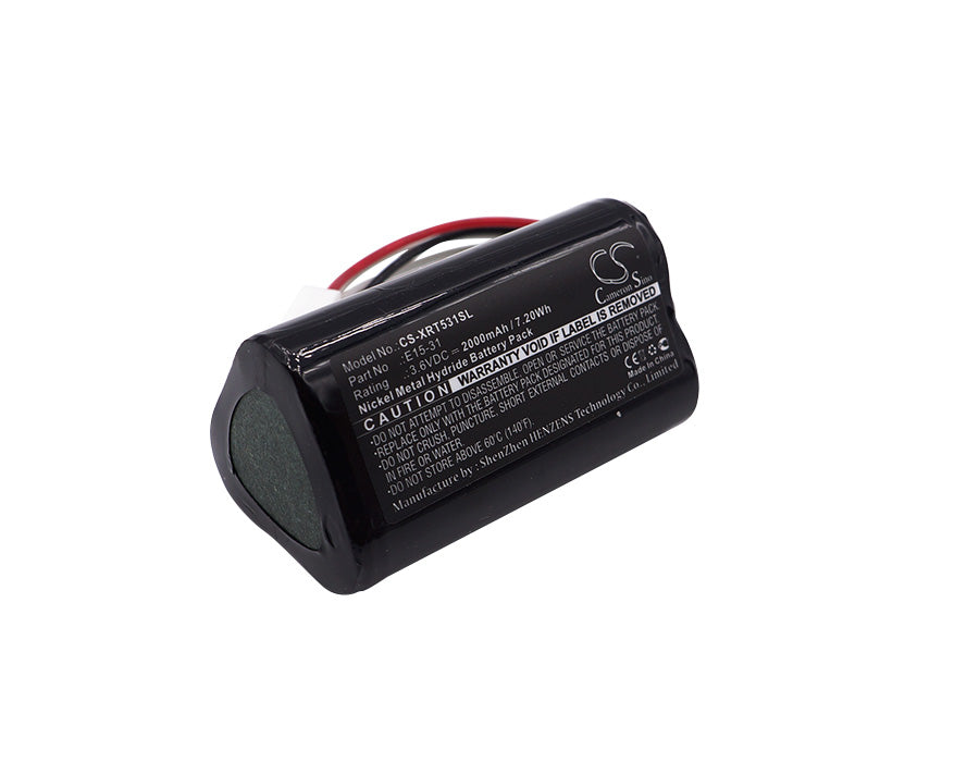 Battery for X-Rite E15-31, E15-31 Shade vision