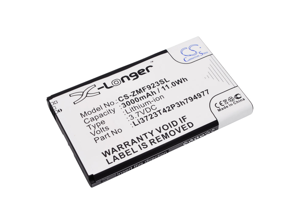 Battery for ZTE MF923, VELOCITY