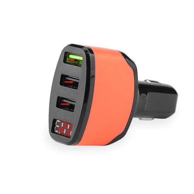Powstro QC3.0 USB Car Charger (3 port)12V~24V
