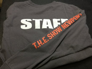 "T.H.E. Show Newport Long Sleeve T-Shirts (limited run and ""vintage!"")"