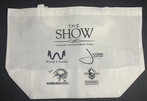 T.H.E. Show 2019 Branded Merchandise Bags