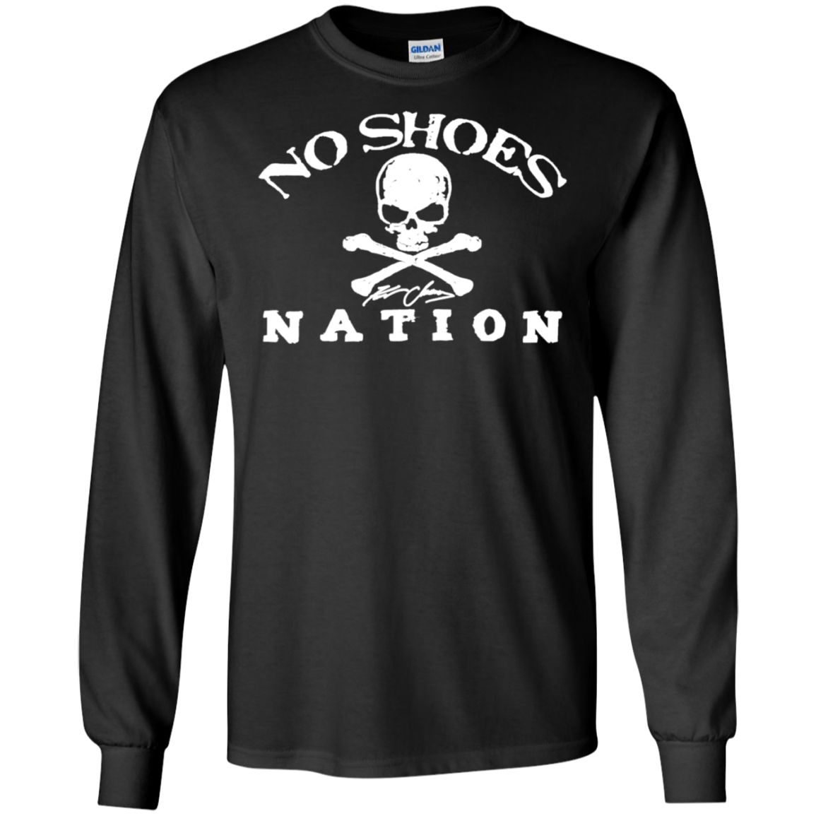 Cover Your Body With Amazing No Shoes Nation Pirate Country Long T Shi Shirts