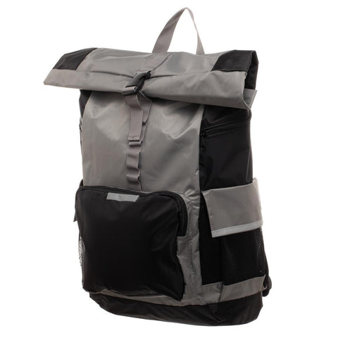 Men's Grey Backpack  RollTop Backpack for Men