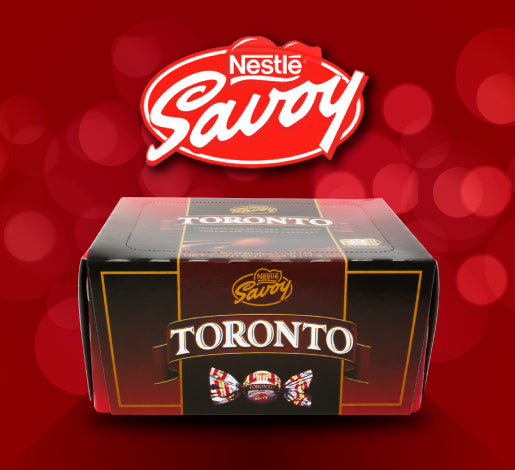 Nestle Savoy Toronto Chocolate Covered Hazelnut Candy