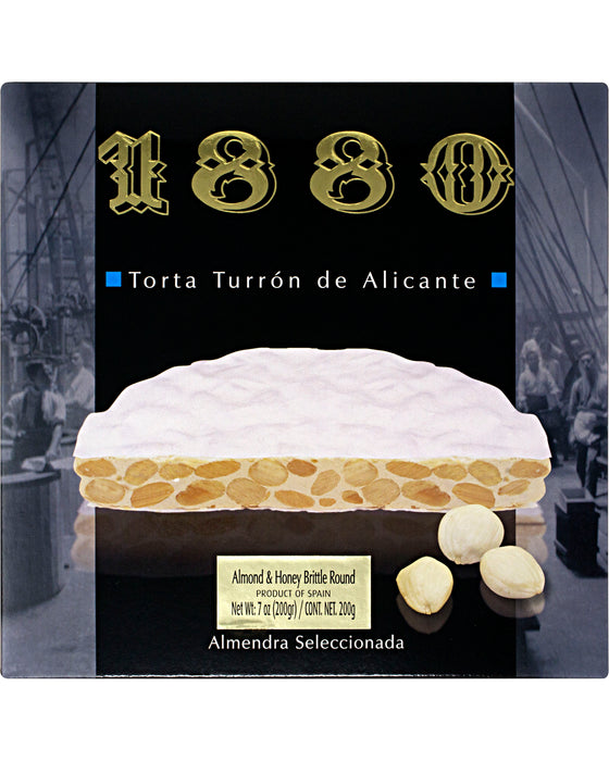 1880 Torta Turron de Alicante (Almond and Honey Nougat)