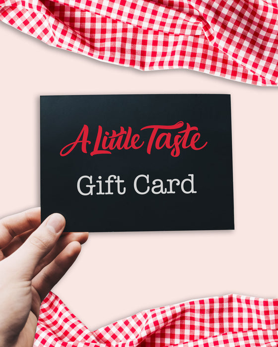 A Little Taste Gift Card
