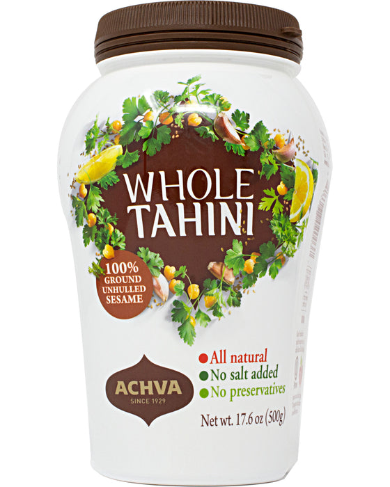 Achva Whole Sesame Tahini Paste