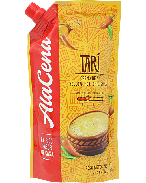 AlaCena Tari Crema de Aji (Yellow Hot Chili Sauce)