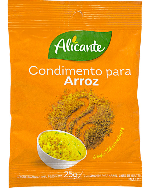 Alicante Condimento para Arroz (Rice Seasoning Mix)