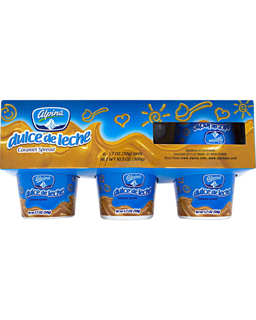Alpina Dulce de Leche (Milk Caramel Spread) (Pack of 6)
