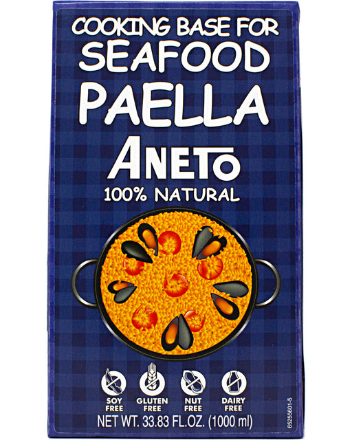 Aneto Seafood Paella Cooking Base