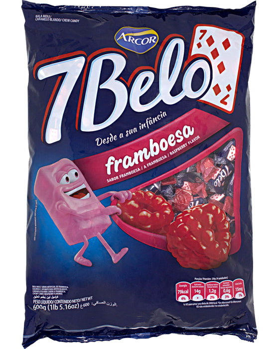 Arcor 7 Belo Framboesa (Raspberry Candy)