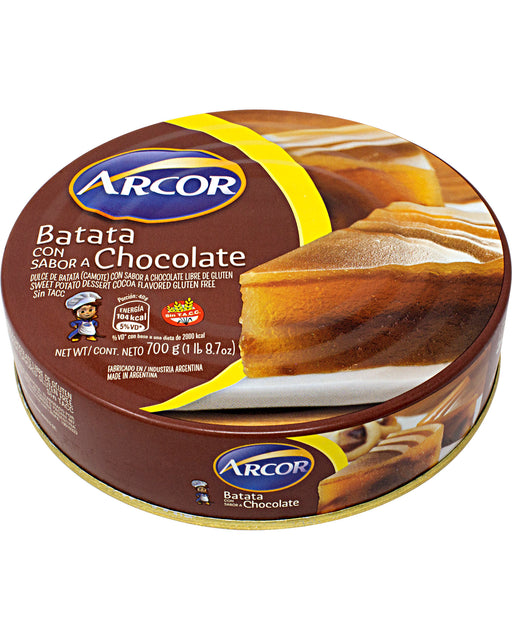 Arcor Dulce de Batata con Chocolate (Sweet Potato and Chocolate Jam)