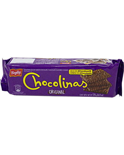Bagley Chocolinas Chocolate Cookies