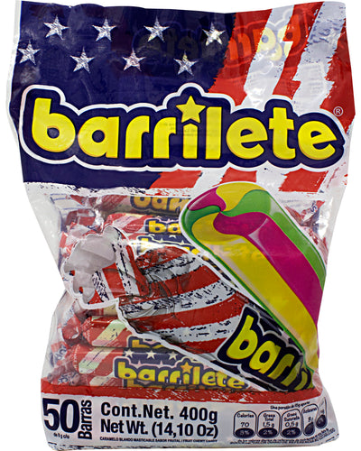 Barrilete (Fruit-Flavored Chewy Candy) - 14.1 oz / 400 g