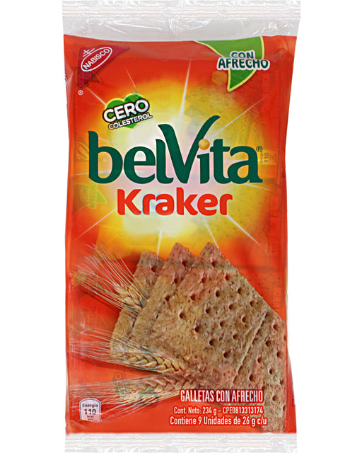 Belvita Kraker Bran (Wheat Bran Crackers)