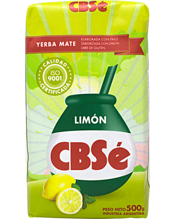 CBSe Yerba Mate, Lemon-Flavored