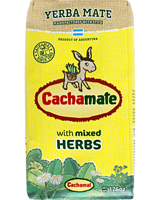 Cachamate Yerba Mate with Mixed Herbs