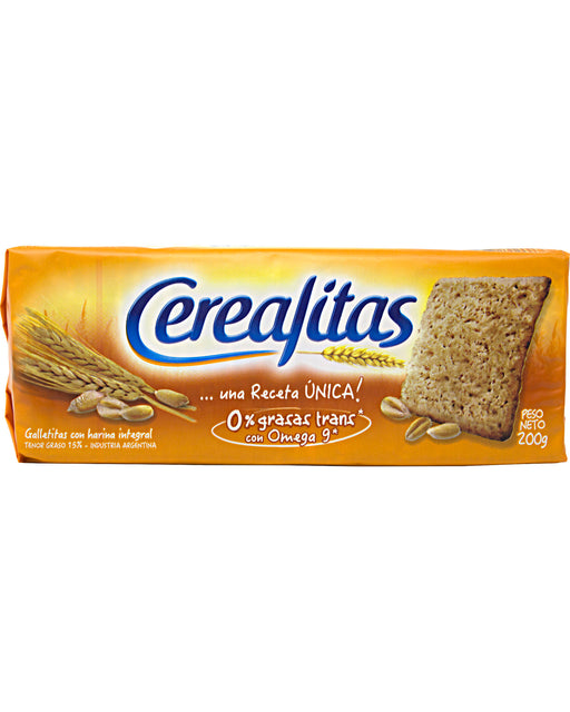 Cerealitas Whole-wheat Flour Crackers