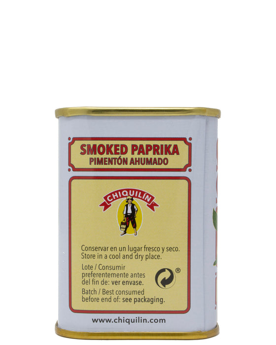Chiquilin Spanish Smoked Paprika Back