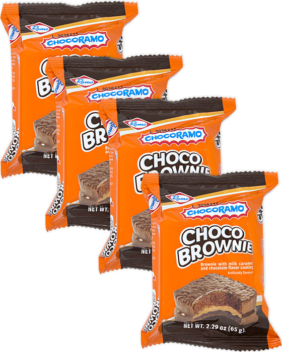 Chocoramo Brownie Filled with Milk Caramel (Pack of 4)