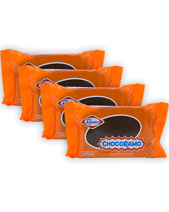 Chocoramo Chocolate-covered Vanilla Cake (Pack of 4)