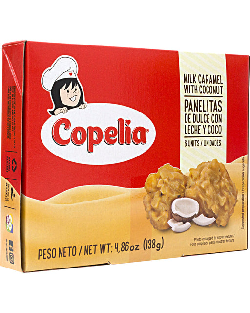 Copelia Panelitas (Coconut and Milk Caramel Sweets)