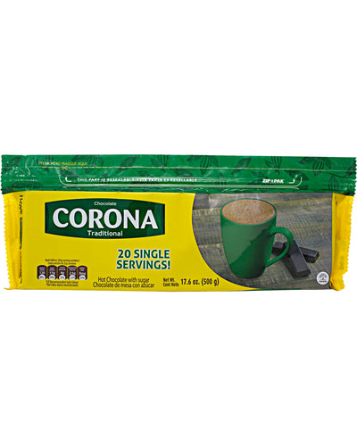 Corona Chocolate Tablet (Hot Cocoa) - 17.6 oz / 500 g